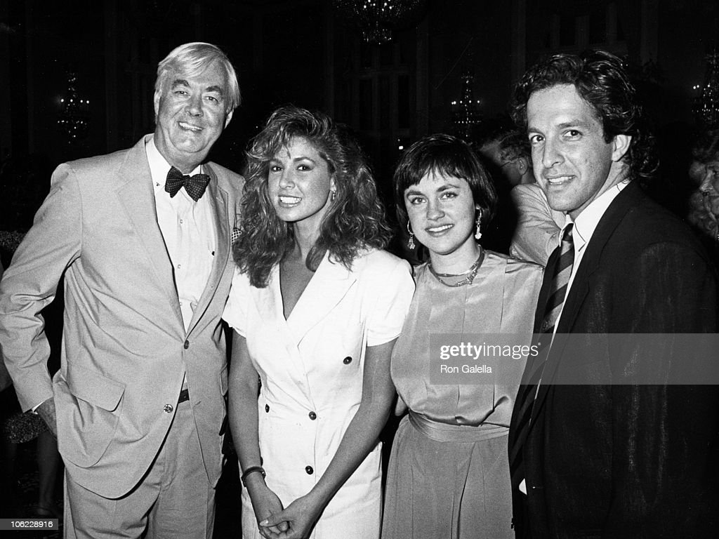 Mario Cuomo Hosts Party for Senator Daniel Patrick Moynihan