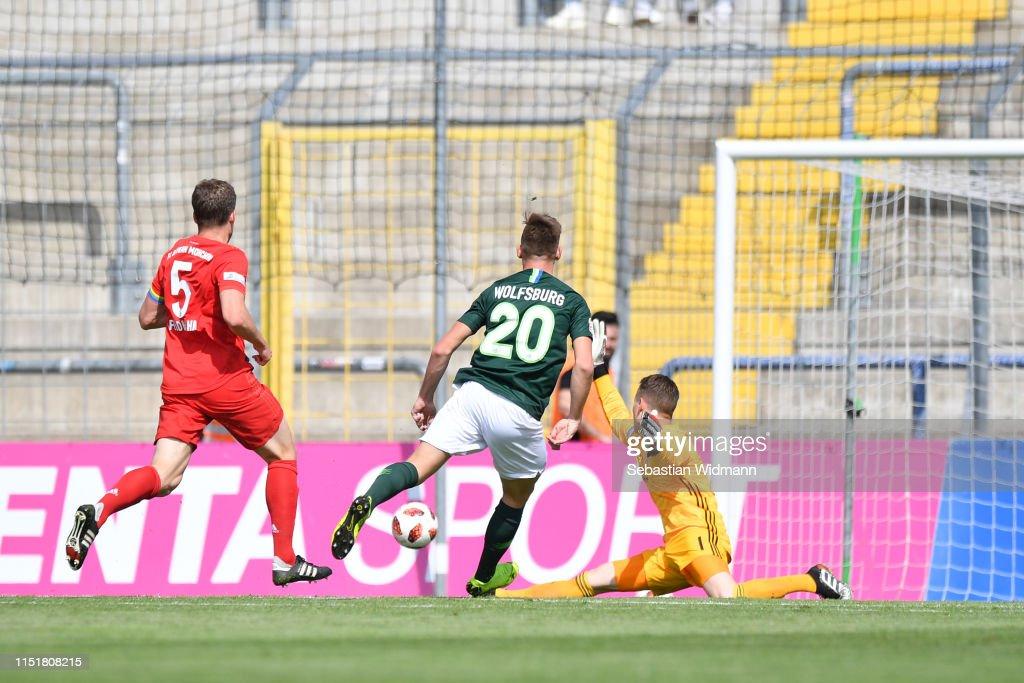 DEU: Bayern Muenchen II v VfL Wolfsburg II - Third League Playoff Second Leg