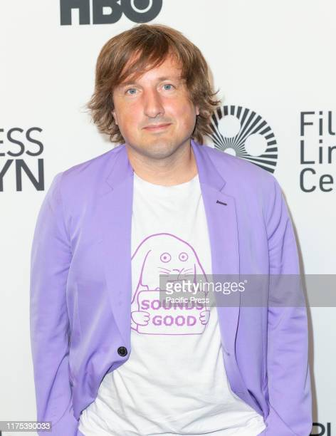 Daniel Pemberton attend Motherless Brooklyn premiere during 57th New York Film Festival at Alice Tully Hall