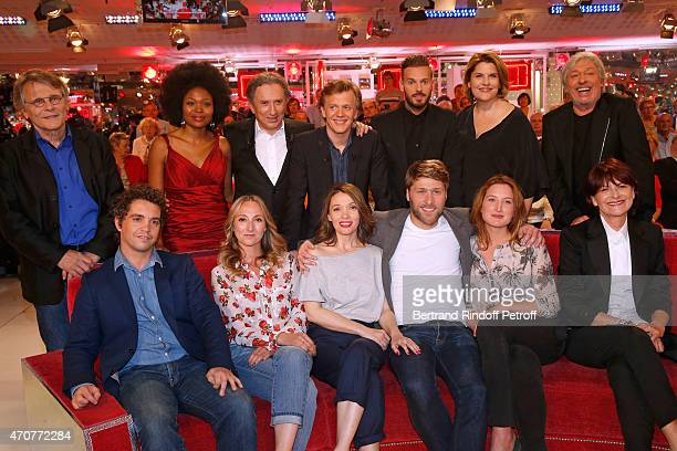 Daniel Pennac Pumeza Michel Drucker Main guest of the show Alex Lutz M Pokora Mathilde Vitry Cookie Dingler Bruno Sanches Audrey Lamy Anne Marivin...