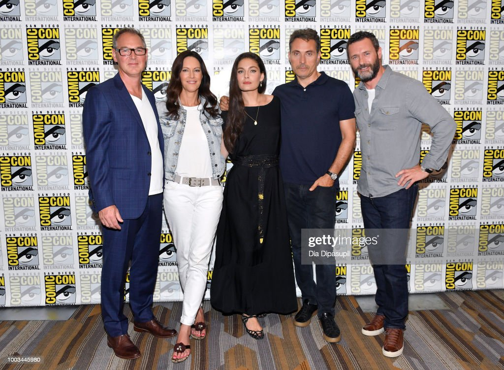 "Comic-Con International 2018 - ""The Man In The High Castle"" Press Line : News Photo"