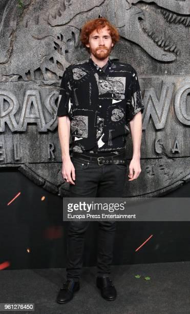 Daniel Perez Prada attends the 'Jurassic World Fallen Kindom' premiere at Wizink Center on May 21 2018 in Madrid Spain