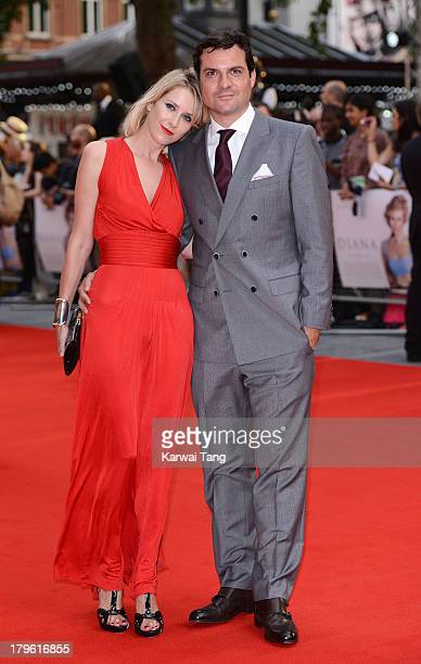 Daniel Pirrie attends the world premiere of 'Diana' at Odeon Leicester Square on September 5 2013 in London England