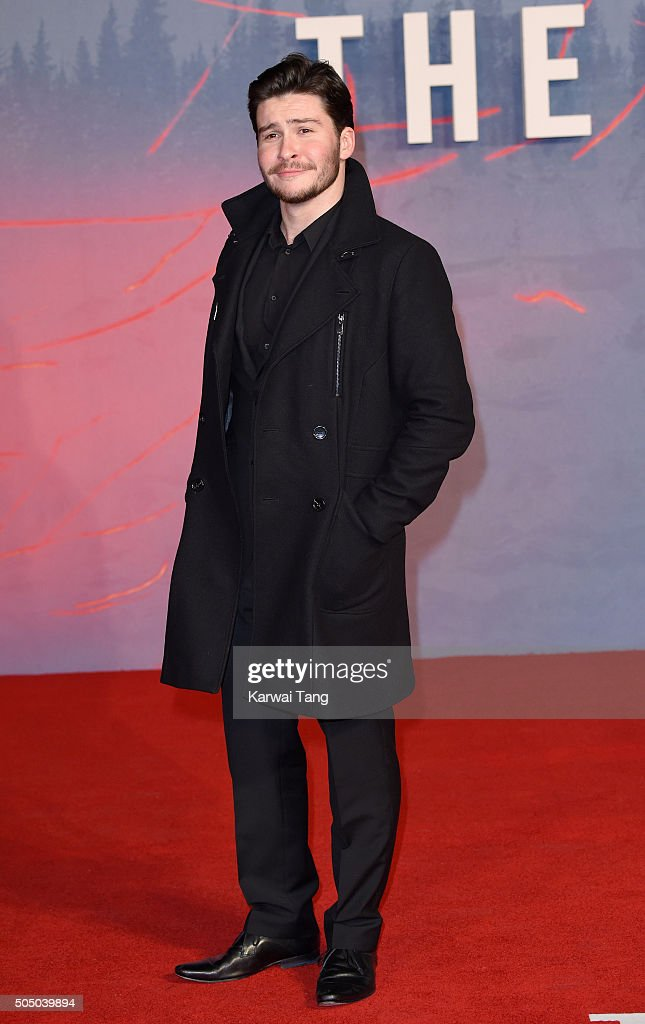 Daniel Portman attends UK Premiere of 'The Revenant' at Empire Leicester Square on January 14, 2016 in London, England.