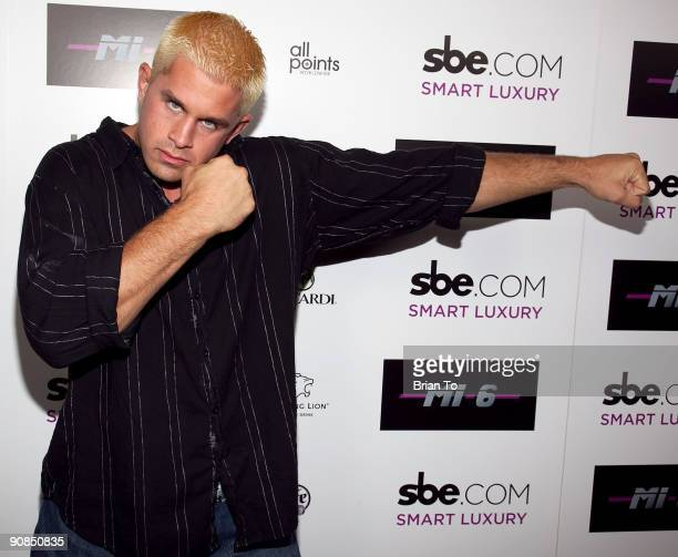 Daniel Puder attends Mi6 Nightclub Grand Opening Party on September 15 2009 in West Hollywood California