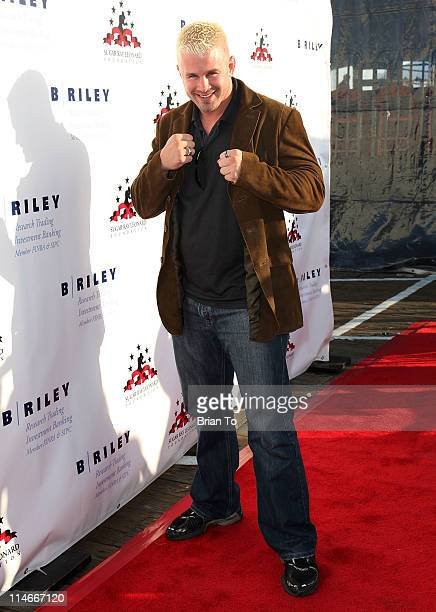 Daniel Puder attends Sugar Ray Leonard's 2nd annual Big Fighters Big Cause charity boxing event at Santa Monica Pier on May 24 2011 in Santa Monica...