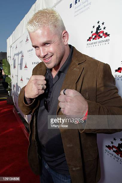 Daniel Puder attends Sugar Ray Leonard's 2nd Annual Charity Boxing Night at the Santa Monica Pier on May 24 2011 in Santa Monica California