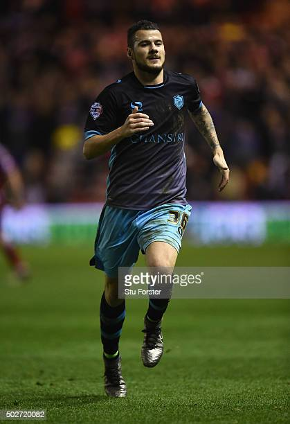 Daniel Pudil of Sheffield Wednesday in action during the Sky Bet Championship match between Middlesbrough and Sheffield Wednesday at the Riverside...