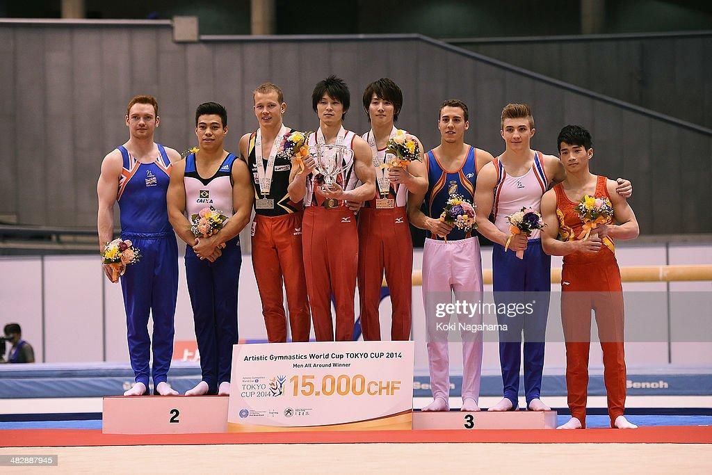 Gymnastics Tokyo World Cup 2014