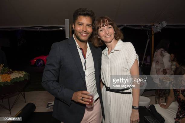 Daniel Queiroz attends Hamptons Magazine's 40th Anniversary Bash by Lawrence Scott Events presented by Compass at Southampton Arts Center on July 21...