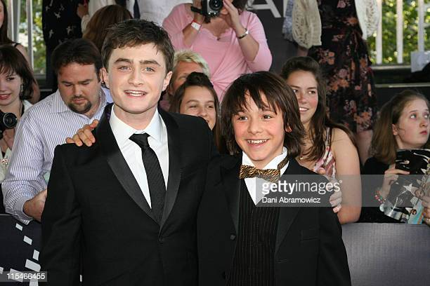 Daniel Radcliffe and Christian Byers during L'Oreal Paris 2006 AFI Awards Arrivals at Melbourne Exhibition Centre in Melbourne VIC Australia