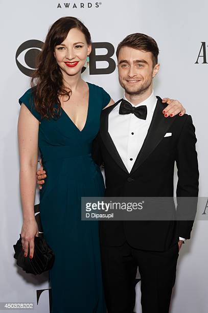Daniel Radcliffe and Erin Darke attend the American Theatre Wing's 68th Annual Tony Awards at Radio City Music Hall on June 8 2014 in New York City