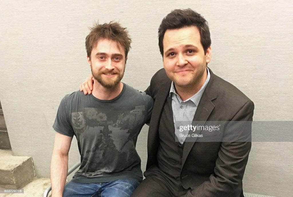 Celebrities Visit Broadway - June 29, 2017 : News Photo