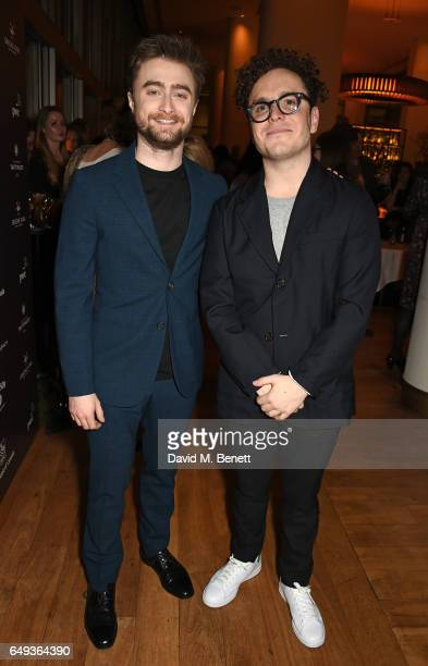 Daniel Radcliffe and Joshua McGuire attend the press night after party for The Old Vic's production of 'Rosencrantz Guildenstern Are Dead' at The...