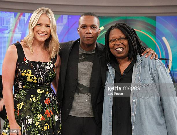 THE VIEW Daniel Radcliffe and Leslie Odom Jr are the guests on The View airing Wednesday August 10 2016 on the Walt Disney Television via Getty...
