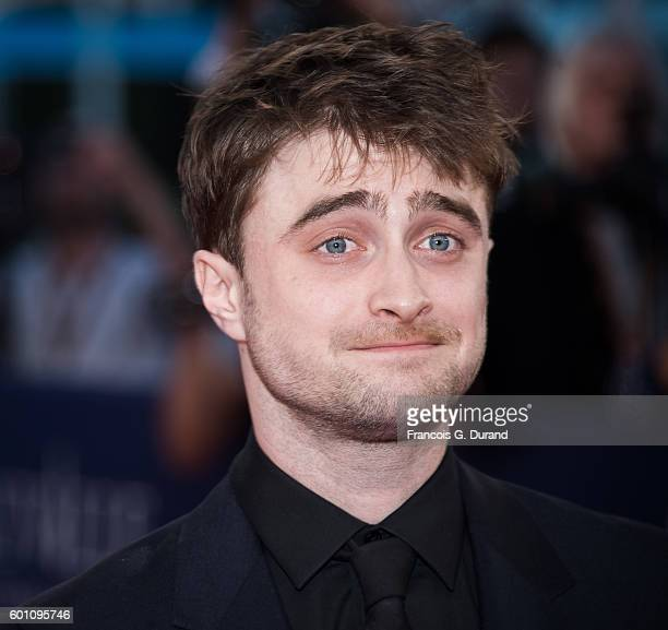 Daniel Radcliffe arrives at the 'Imperium' Premiere during the 42nd Deauville American Film Festival on September 9 2016 in Deauville France