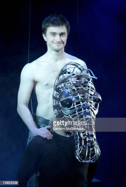 Daniel Radcliffe at the Gielgud Theatre in London United Kingdom