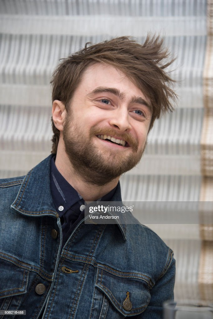Daniel Radcliffe at the 'Miracle Workers' Press Conference at the Peninsula Hotel on March 20, 2018 in New York City.