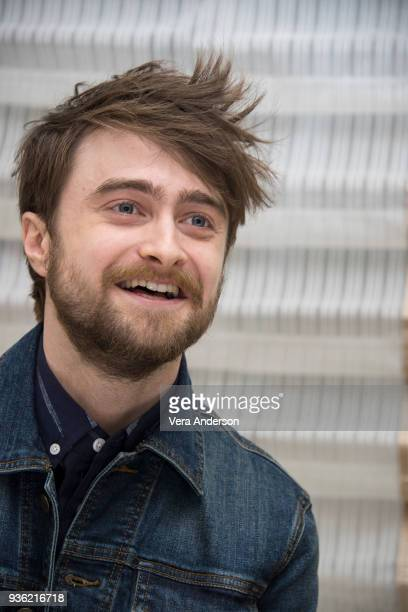 Daniel Radcliffe at the Miracle Workers Press Conference at the Peninsula Hotel on March 20 2018 in New York City