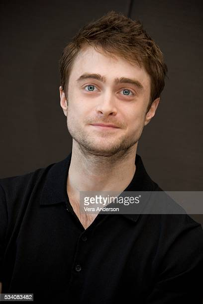 Daniel Radcliffe at the 'Now You See Me 2' press conference at the Mandarin Oriental Hotel on May 23 2016 in New York City