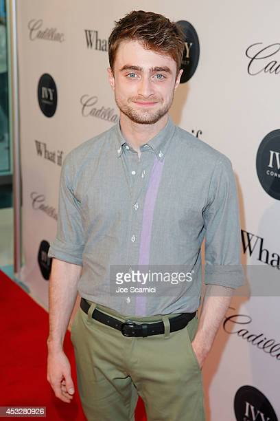 Daniel Radcliffe attends IvyConnect's Inaugural Ivy Innovator Awards with Daniel Radcliffe at Landmark Theatre on August 6 2014 in Los Angeles...