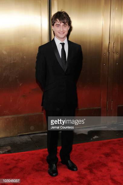 Daniel Radcliffe attends the 64th Annual Tony Awards at Radio City Music Hall on June 13 2010 in New York City