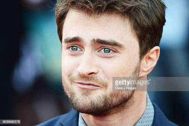 Daniel Radcliffe attends the American Airlines Presents Empire Live double gala screening of 'Swiss Army Man' and 'Imperium' at The O2 Arena on...