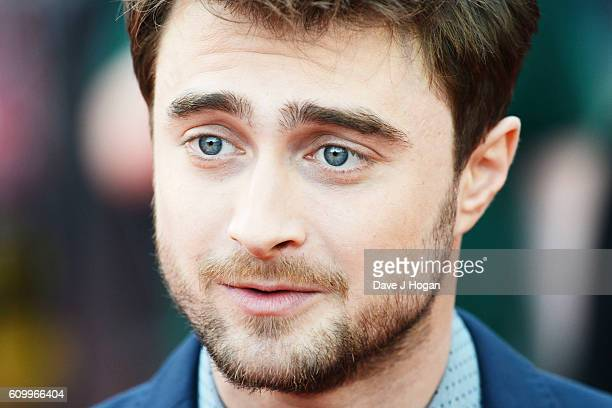 Daniel Radcliffe attends the American Airlines Presents Empire Live double gala screening of Swiss Army Man and Imperium at The O2 Arena on September...