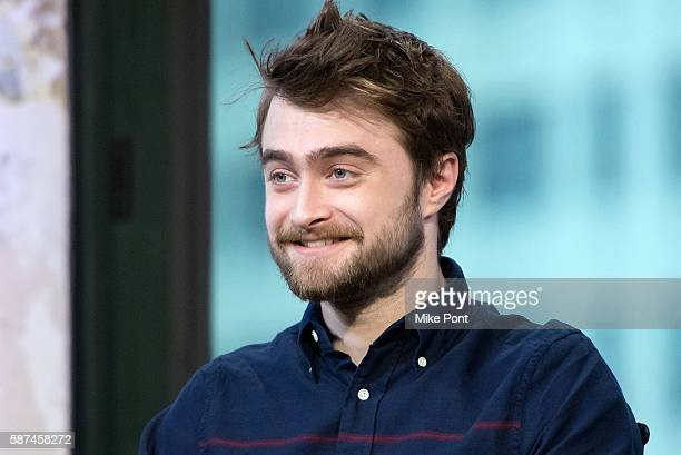 Daniel Radcliffe attends the AOL Build Speaker Series to discuss Imperium at AOL HQ on August 8 2016 in New York City