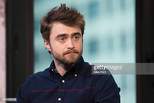 Daniel Radcliffe attends the AOL Build Speaker Series to discuss 'Imperium' at AOL HQ on August 8 2016 in New York City