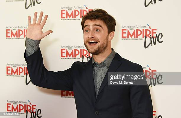 Daniel Radcliffe attends the Empire Live 'Swiss Army Man' 'Imperium' double bill gala screening at Cineworld 02 Arena on September 23 2016 in London...