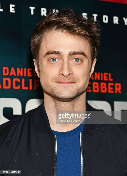 "Daniel Radcliffe attends the gala screening of ""Escape From Pretoria"" at the Curzon Soho on February 16, 2020 in London, England."
