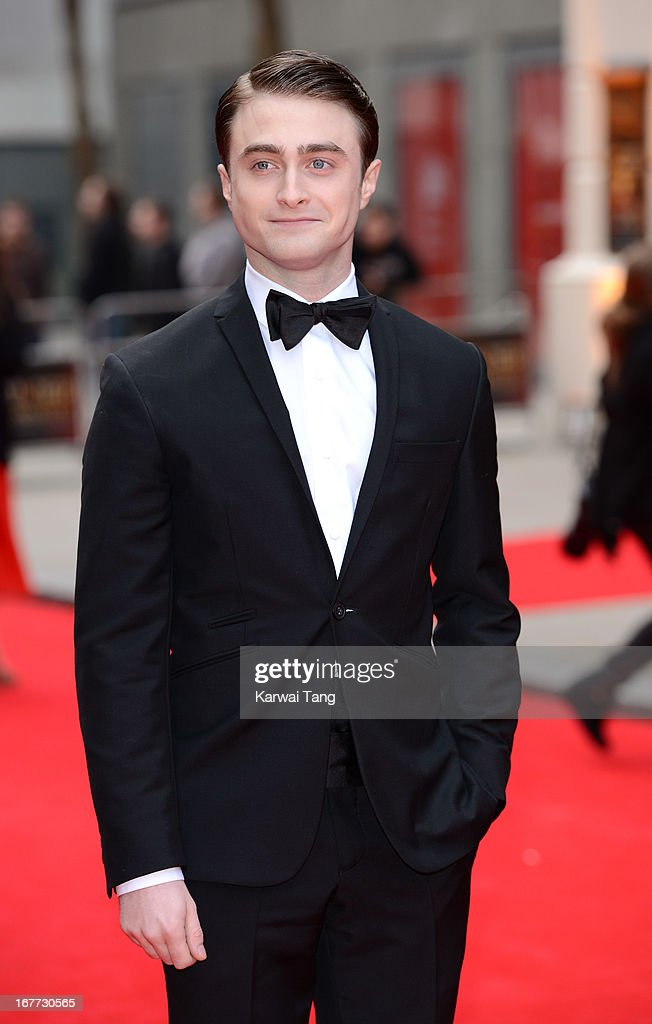 Daniel Radcliffe attends The Laurence Olivier Awards at The Royal Opera House on April 28, 2013 in London, England.