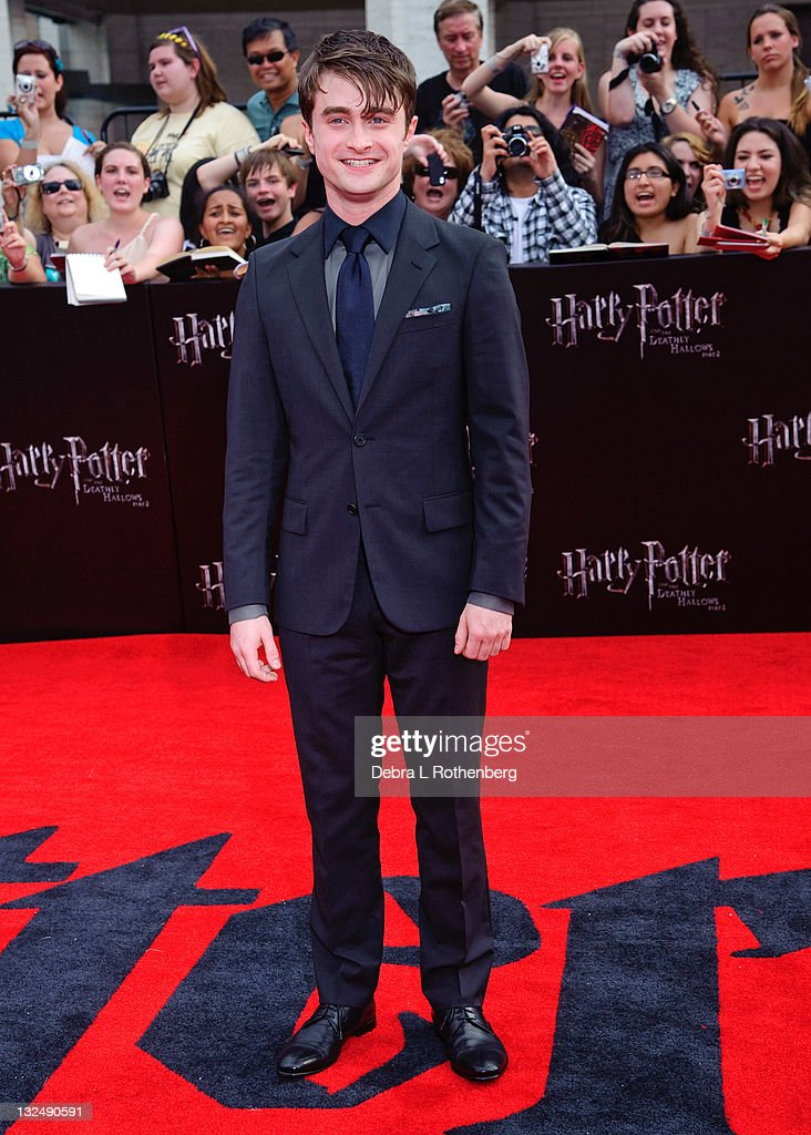 Harry Potter And The Deathly Hallows: Part 2 New York Premiere - Outside Arrivals : News Photo