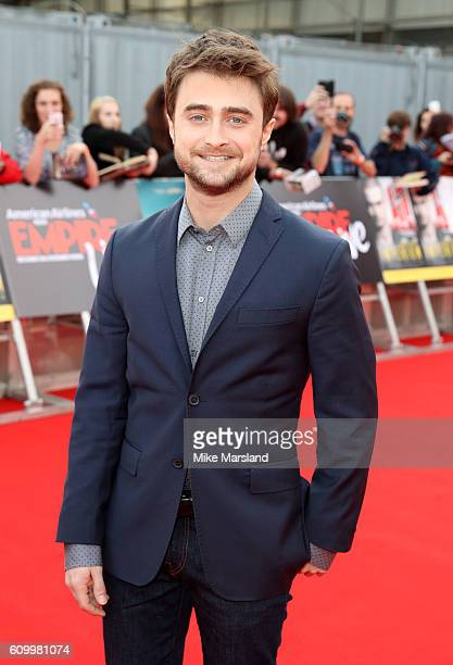 Daniel Radcliffe attends the premieres of Swiss Army Man and Imperium part of Empire Live in conjunction with Ubeeqo the Official Transport Providers...