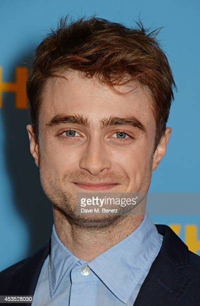 Daniel Radcliffe attends the UK Premiere of 'What If' at Odeon West End on August 12 2014 in London England