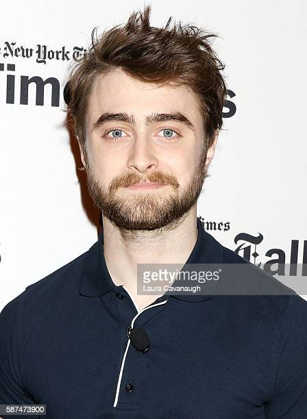 Daniel Radcliffe attends TimesTalks Presents 'Imperium' at The Times Center on August 8 2016 in New York City