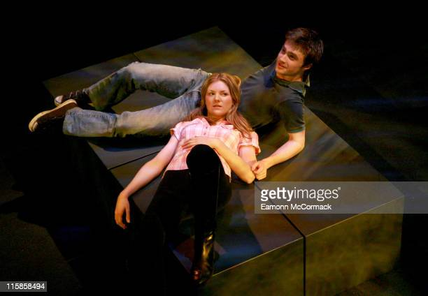 Daniel Radcliffe during Equus Press Photocall February 22 2007 at Gielgud Theatre in London Great Britain
