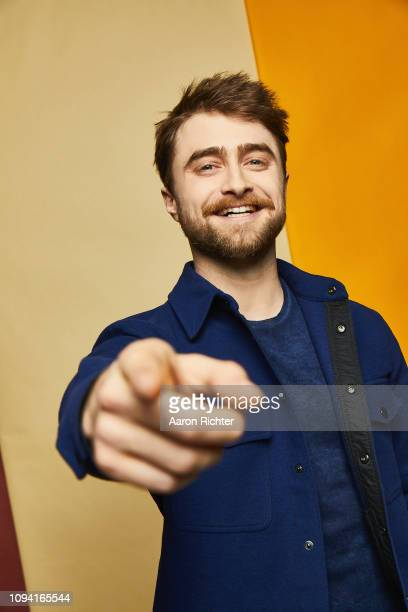 Daniel Radcliffe from 'Miracle Workers' poses for a portrait in the Pizza Hut Lounge in Park City Utah on January 26 2019 in Park City Utah