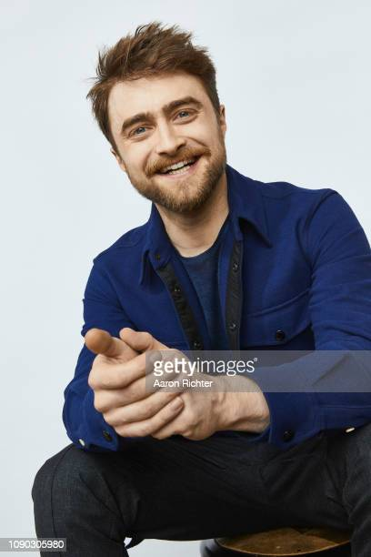 Daniel Radcliffe from 'TBS' Miracle Workers' poses for a portrait in the Pizza Hut Lounge in Park City Utah on January 26 2019 in Park City Utah
