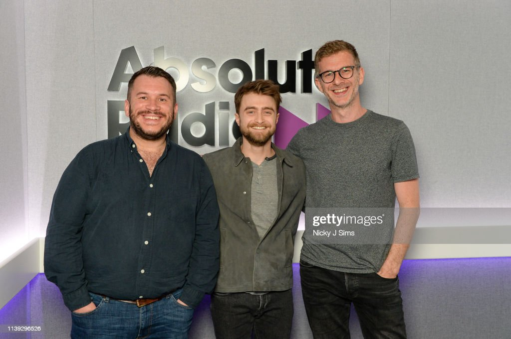 GBR: Daniel Radcliffe Visits Absolute Radio