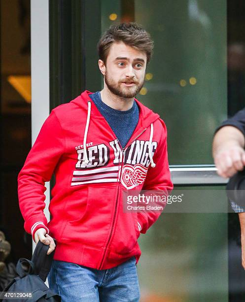 Daniel Radcliffe seen on April 17 2015 in New York City