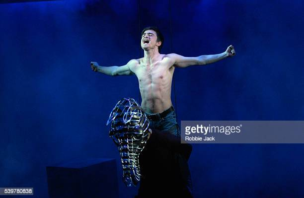 Daniel Radcliffe stars as Alan Strang in Equus at the Gielgud Theatre