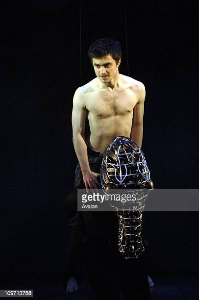 Daniel Radcliffe stars in the play Equus by Peter Shaffer which is at the Gielgud Theatre London Photo Shows Daniel Radcliffe as Alan Strang 22 02...