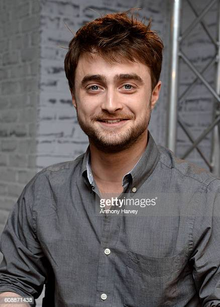 Daniel Radcliffe takes part in AOL's BUILD series LONDON at AOL London on September 20 2016 in London England