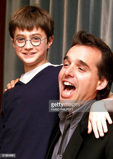 Daniel Radcliffe the 11yearold British star who has been picked out of thousands of hopefuls to star in the new Harry Potter movie poses with the...