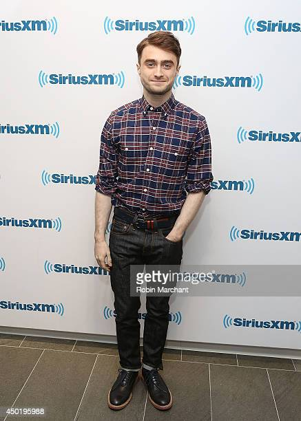 Daniel Radcliffe visits at SiriusXM Studios on June 6 2014 in New York City