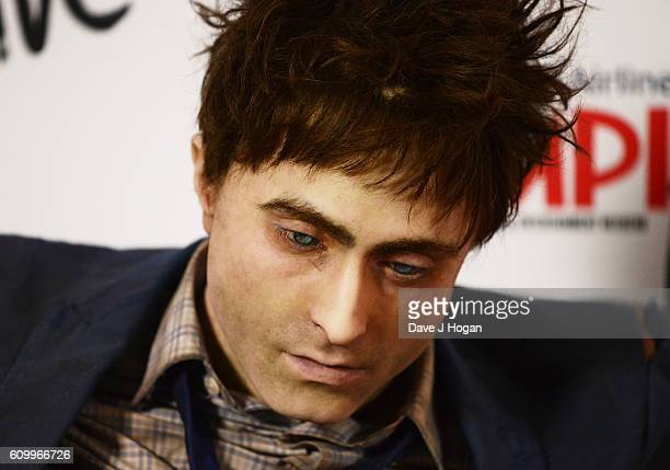 Daniel Radcliffe's dummy during the American Airlines Presents Empire Live double gala screening of Swiss Army Man and Imperium at The O2 Arena on...