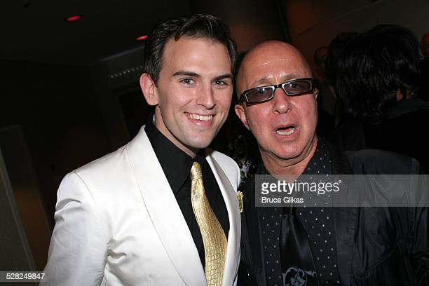 Daniel Reichard and Paul Shaffer during Opening Night After Party for Jersey Boys on Broadway at The August Wilson Theater and The Marriott Marquis...