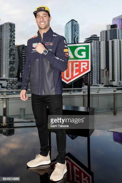 Daniel Ricciardo attends the TAG Heuer Grand Prix Party on March 20 2018 in Melbourne Australia